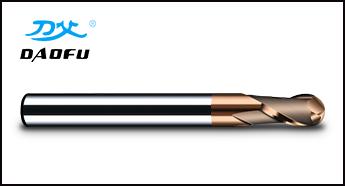 HRC60°古铜色球刀
