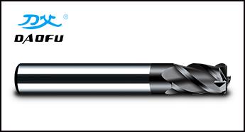 HRC55°黑色涂层圆鼻刀