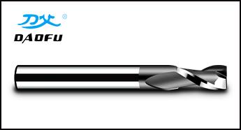 2刃黑色涂层铣刀