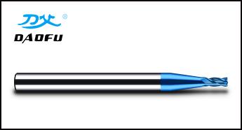 蓝色微小径铣刀